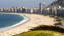 Die Copacabana ist der berühmteste Strand der Bucht (Quelle: imago)