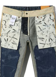 【JAPAN DENIM】 RAZOR JAR SLIM FIT DENHAM(デンハム)日本公式オンラインストア Denham Jeans, Denim Man, Japanese Denim, Aster, Work Fashion, Printing On Fabric, Bermuda Shorts, Fabrics, Charmed