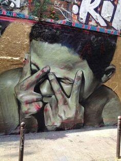 MESA à Belleville, Paris XXème - www.street-art-avenue.com #streetart jd
