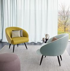 Club Chair by Zimmer + Rohde | Lounge area / Waiting room | Seating