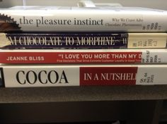 "The pleasure instinct / From chocolate to morphine / ""I love you more than my dog!"" / Cocoa in a nutshell"