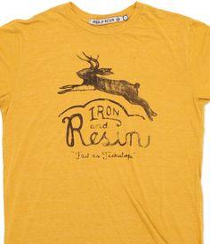 INR Jumpin' Jackalope T-Shirt : Iron & Resin