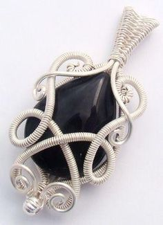 Wire wrapped pendant tutorial by gay