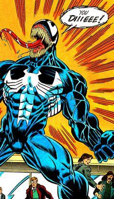 The Rage Of Venom (Amazing Spider-Man Vol. 1 #378, June 1993) - Mark Bagley, Randy Emberlin & Bob Sharen, Words by David Michelinie