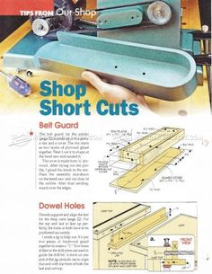 #2240 Belt Sander Plans - Sanding Wood Sharpening