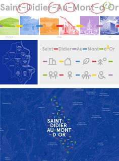 New Logo and Identity for Saint-Didier-au-Mont-d'Or by Graphéine..