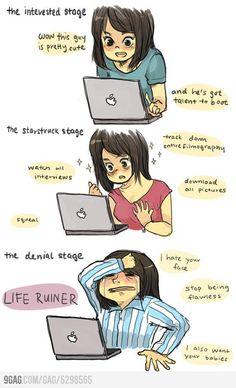 Definitely on the last stage...