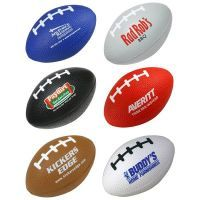 Sports Stress Toys. Sports Ball Stress Shapes. Personalized Stress Balls, Factory Direct at the Lowest Pricing!  We manufacture custom stress balls and promotional stress toys. Stress relievers customized with your logo. Promo stress ball shapes and squeezies in hundreds of shapes! Our logo stress balls have a quick turn-around time so you can have a colorful, eye-catching promotional product delivered in time for your next big event! http://www.abetteridea.com/stress-toys