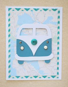 DIY VW Bus Card