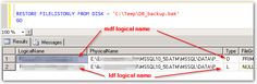 The backup set holds a backup of a database other than the existing – Stack Overflow #database #backup #software http://mississippi.remmont.com/the-backup-set-holds-a-backup-of-a-database-other-than-the-existing-stack-overflow-database-backup-software/  # +1 for Don t create an empty database and restore the .bak file on to it . yes, that solves it. (But why didn t I get this problem all the other times I did the same thing? And didn t we only start doing that pre-create in the first place…