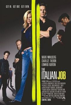 Italian Job F. Gary Gray Mark Wahlberg Edward Norton Jason Statham Charlize Theron Movie 24x36 Poster Print High Quality Rare Limited by Mypostergallery, http://www.amazon.com/dp/B00B7IHI0E/ref=cm_sw_r_pi_dp_mjpQrb1ZZ5C98