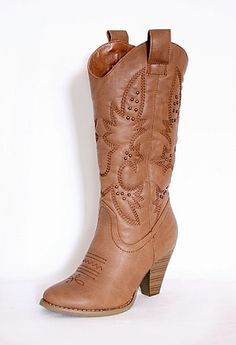 Cowboy Boot with Heel More Colors Available $39.50