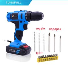 25v Cordless Screwdriver 12v Electric Drill Rechargeable Additional Lithium Battery Waterproof Drill With Led Light Torque Drill Complete In Specifications Electric Drills