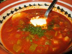 Ukrainian Cuisine Weekly - Week 1 - Borsch - Tour 2 Go