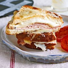 On her show today, Rach is whipping up a batch of croque monsieurs with a turkey twist– delish! Check out some of our other spins on this exquisite French sandwich:  The Traditional Sometimes you just can't beat a classic.  Italian-Style Madame Sub in prosciutto and fontina for ham and gruyere, top it with [...]