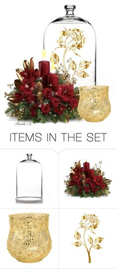 """Everything's Rosy #2"" by freida-adams ❤ liked on Polyvore featuring art"