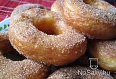 Túrós fánkkarikák Doughnut, Food And Drink, Hungary