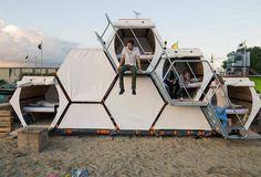 honeycomb Tent style