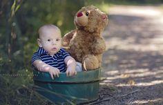 Baby & bear = cute cute cute~~~