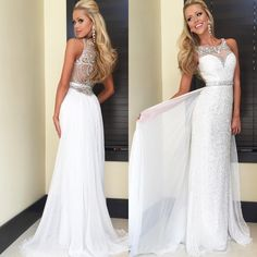 "Sherri Hill Style 11289 in white"""