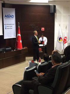 #YeniDünyaDüzenindeDışTicaret adlı seminerimizde @Alibabaturkiye temsilcisi #EGlober GM @orkanaytulun konuşuyor. @adanaagid @adanasanodasi