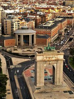Arco de la Victoria. Moncloa. Madrid