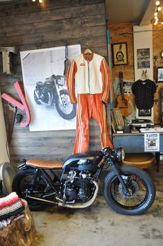 Vintage Honda - Showcases style, quality, direction, timelessness.