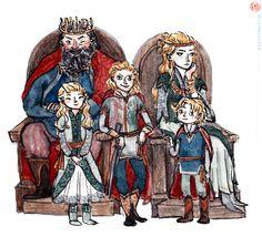 robert, myrcella, joffrey, tommen, cercei