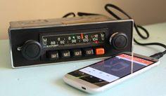 BLAUPUNKT MUNSTER ARIMAT CLASSIC VW BEETLE PORSCHE BMW 1970s RADIO AUX MP3 IPOD #Blaupunkt