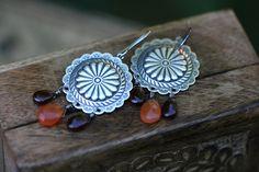 Mandala earrings www.Tribalis.etsy.com