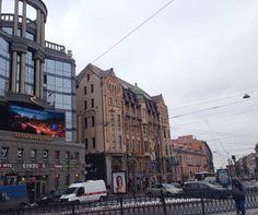 City. SanktPeterburg. Russia.