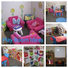 Ideas for setting up a play room