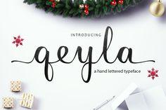 Qeyla - Free Font | Font Bundles