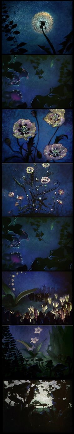 "What's not to ♥ about Walt Disney's ""Fantasia"" (1940.) - ""Dance of the flowers""  I remember my brother taking me to the theater to see this when I was little.  He was an artist.  But he fell asleep!"