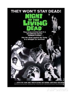 Night of the Living Dead Movie Poster Poster at AllPosters.com