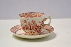 Vintage Wood & Sons Teacup and Saucer  Made in by PanchosPorch, $10.00