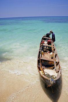 Playa Blanca, Baru, Colombia