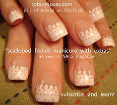 Scalloped French