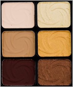 """""""Wet 'n' Wild Vanity Color Icon Eyeshadow Palette ($4.99 for 0.25 oz.) contains six eyeshadows–three with matte finishes and three with frost finishes."""" (have this. need to start using it!)"""