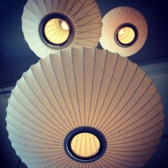 George Nelson Lights by Modernica at Just Modern