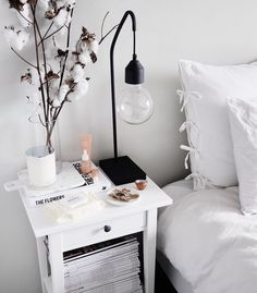 42 Stylish Bedside Deco Ideas – Captain Decor , 42 Stylish Nightstand Decor Ideas – Captain Decor , Home decor Source by msangelness Cute Dorm Rooms, Cool Rooms, Home Bedroom, Bedroom Decor, Bedrooms, Bedroom Furniture, Star Bedroom, Bedroom Small, Modern Bedroom