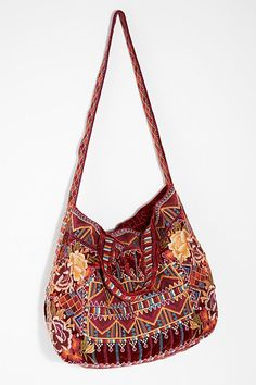 Velvet Bloom Tote Embroidered Bagbohobohemian Decorfree Peoplevelvetfree