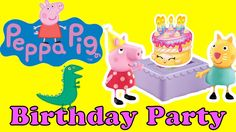 Peppa Pig BIRTHDAY PARTY | Peppa Pig Ultimate Muddy Puddles | Toy Pal Tw...