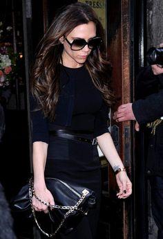 Victoria Beckham Photo - David Beckham and Victoria Leaving Balthazar in NYC 2
