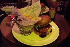 texan burger doddy's coffee - les restos de boulogne