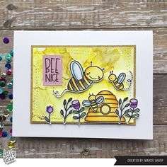 These sweet honey bees making honey were drawn with love and made into a cute clear stamp set for your creative mind. These clear stamps are perfect for card making and other paper crafts. These stamps are hand drawn by Holly Pixels. Sheet of stamps is 4 x 6 inches Clear polymer stamp design made in the USA Honey Bees, Clear Stamps, 6 Inches, Hand Drawn, How To Draw Hands, Card Making, Paper Crafts, Usa, Creative