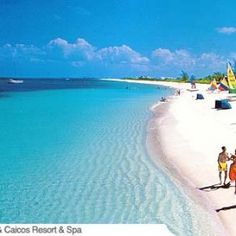 Grace Bay Beach, 12 miles of sugar white sand, Turks and Caicos.  Next tropical vacation