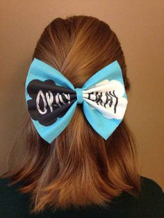 "This bow. | 31 Incredible Etsy Products For ""The Fault In Our Stars"" Fans"