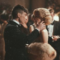 Cillian Murphy and Annabelle Wallis, Peaky Blinders