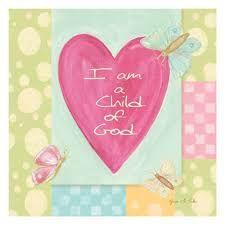 Картинки по запросу i am a child of god